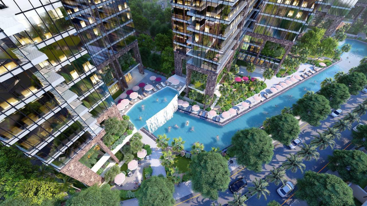 Hồ bơi liên tòa S2-S3-S4 tại Sunshine City Sài Gòn